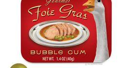 Du foie gras à mâcher et du nappage au