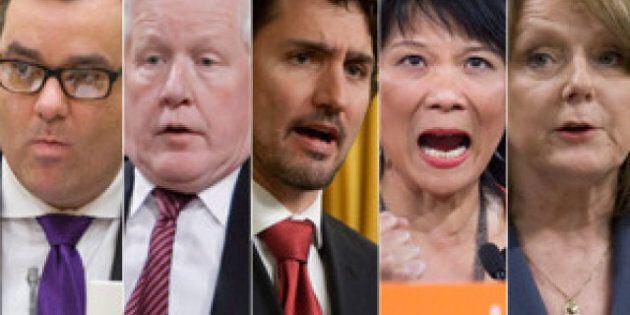 Les meilleurs politiciens du Canada sur