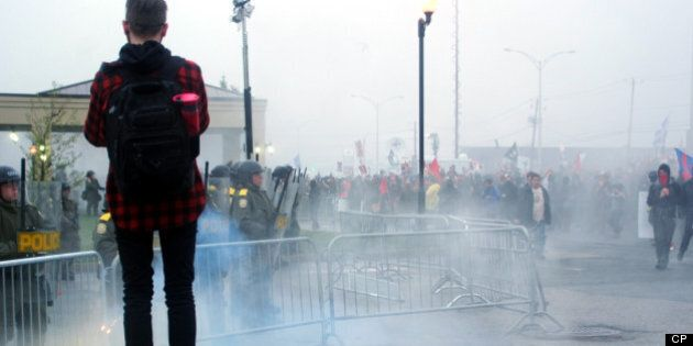Violence à Victoriaville : pas d'enquête indépendante malgré les doutes de la Sûreté du