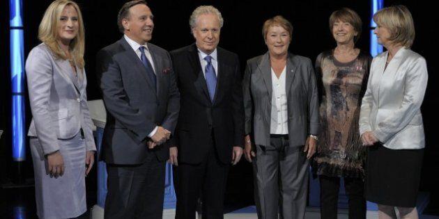 Débat des chefs: pas de knock-out, Françoise David se fait