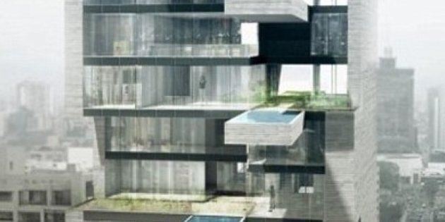 À Lima, des piscines suspendues au-dessus du vide