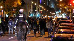 Manifestation nocturne contre la brutalité