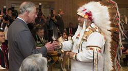 Les Amérindiens veulent rencontrer la reine en