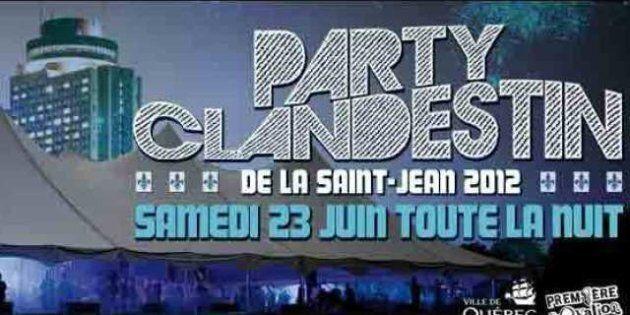 Fête nationale: pour la Saint-Jean, le Party Clandestin de retour sur les Plaines le 23 juin