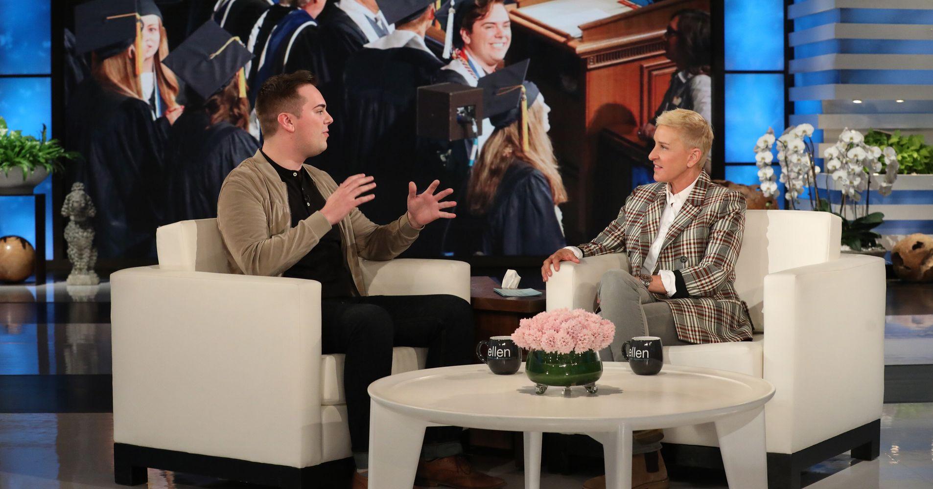 Image result for Ellen degeneres interviews matt easton