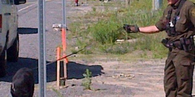 Blainville : un corps trouvé, les mains liées, dans le coffre d'une voiture