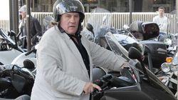 Depardieu frappe un automobiliste.. et porte plainte contre