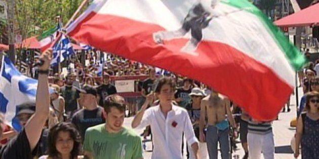 Montréal: une Journée des Patriotes sous le signe du carré
