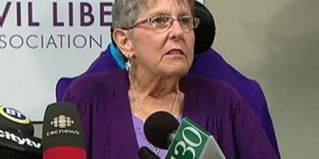 Gloria Taylor, qui a lutté pour le suicide assisté, est