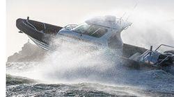 Accident de bateau: deux