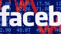 L'action Facebook en chute