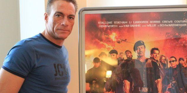 Jean-Claude Van Damme fait un saut à Montréal pour Les Sacrifiés 2