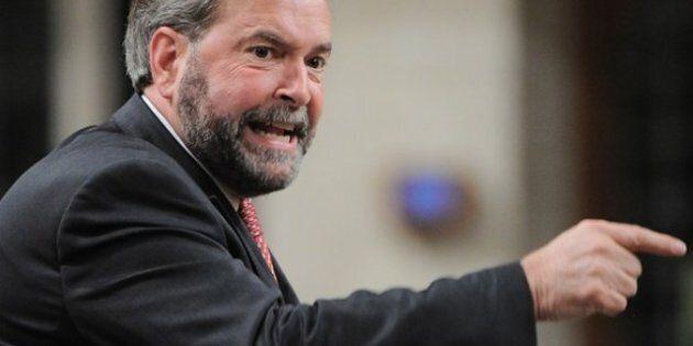 Le chef du NPD Thomas Mulcair critique sévèrement le projet Northern