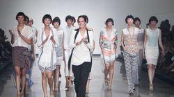 Semaine de mode: jour 1. La soie, tissu tendance pour