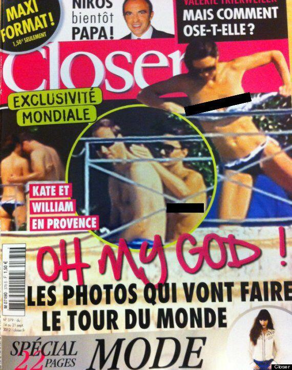 Kate Middleton seins nus: un magazine français publie des