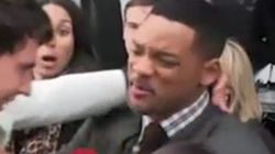 Will Smith repousse et gifle un reporter à Moscou