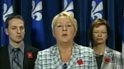 Loi spéciale : Pauline Marois dénonce une loi « abusive