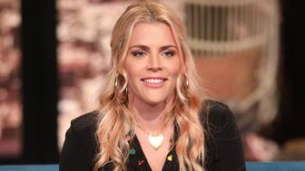 BUSY TONIGHT -- Episode 1091 -- Pictured: Host Busy Philipps on the set of Busy Tonight -- (Photo by: Jordin Althaus/E! Entertainment/NBCU Photo Bank via Getty Images)