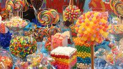 LA tendance de l'heure dans les mariages: le buffet à bonbons