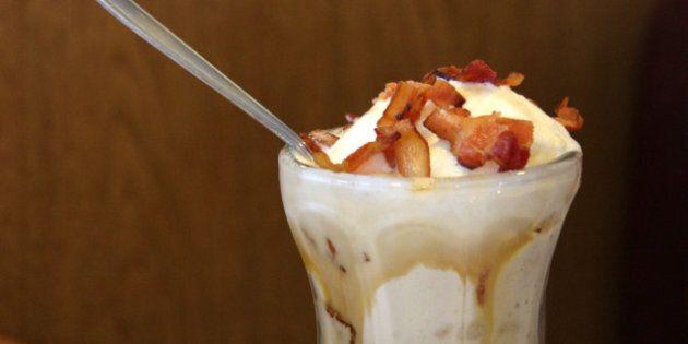 États-Unis: la glace au bacon et ses 510 calories désormais disponible dans tout le