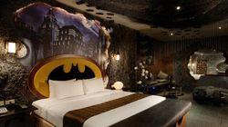La chambre d'hôtel Batman