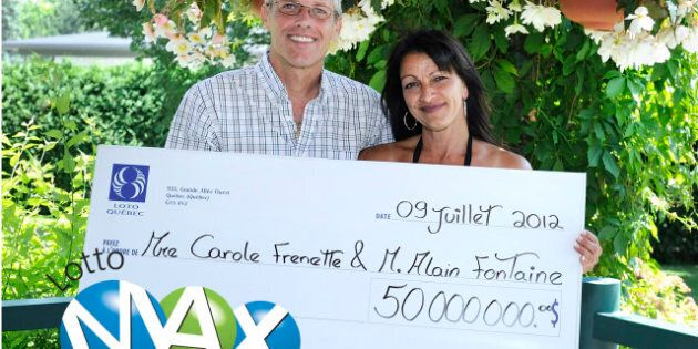 Gros lot Lotto Max: le couple chanceux sort de