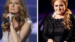 Céline reprend Adele