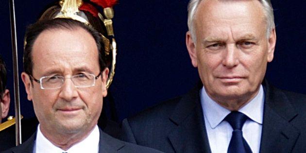 France: le nouveau premier ministre Jean-Marc Ayrault annonce la composition de son