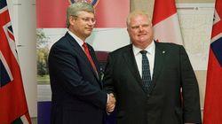Harper discute de peines plus