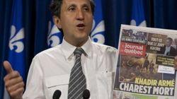 Khadir envisage de poursuivre Le Journal de