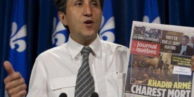 Amir Khadir songe à poursuivre le Journal de Montréal et le Journal de