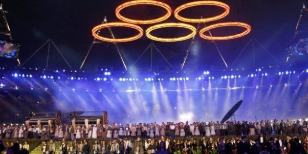 JO-2012 - La cérémonie d'ouverture en
