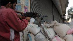 Alep mitraillée par les forces du