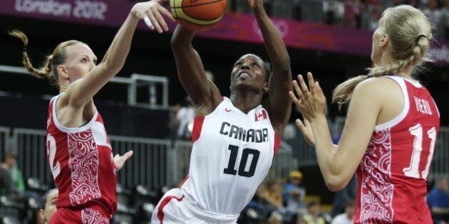 Jeux olympiques de Londres: les Canadiennes s'effondrent devant les Russes au basketball