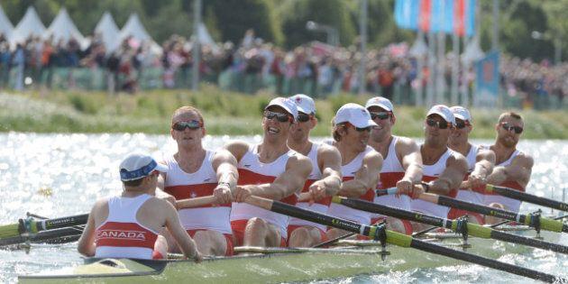 Le huit de pointe masculin accède à la finale aux Jeux de