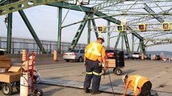 Pont Jacques-Cartier: les travaux sont
