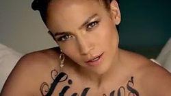 Photos/Vidéo: J. Lo toute tatouée!