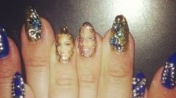 Beyoncé rend hommage à son couple avec une manucure