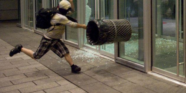 48e manifestation nocturne: vandalisme et arrestations