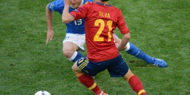 Euro 2012: match nul 1-1 entre Espagne et Italie en lever de