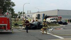 Un accident impliquant un bus de la STM fait deux
