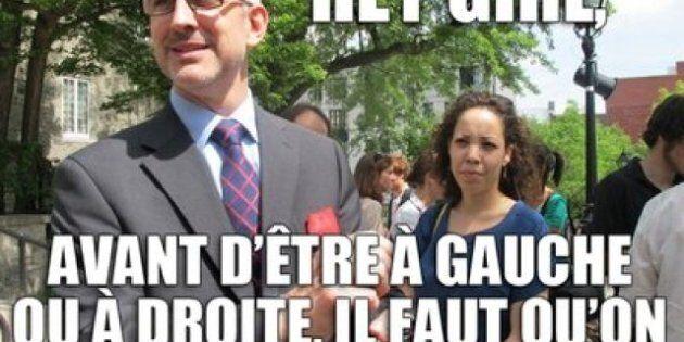 Campagne électorale: Jean-Martin Aussant dans un rôle de sexe symbole sur Tumblr