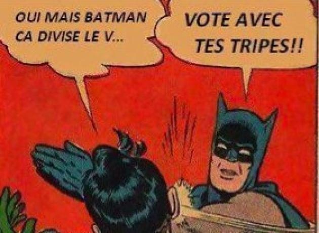 Batman s'invite dans la campagne électorale
