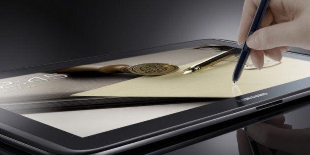 Samsung lance une nouvelle tablette aux États-Unis: la Galaxy Note