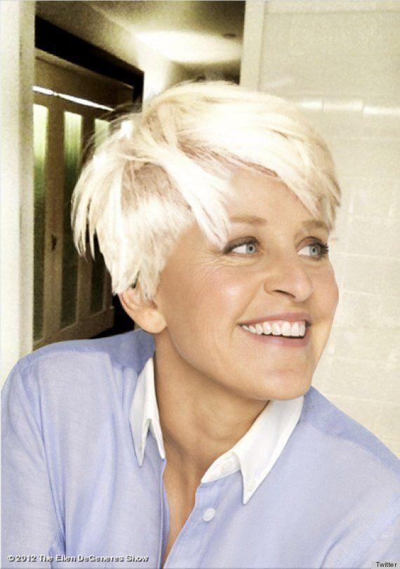 Ellen DeGeneres copie la coupe de cheveux de Miley Cyrus grâce à Photoshop