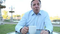 Un café avec François Legault