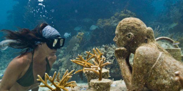 Cancún agrandit Eerie, son musée sous l'eau, avec la première sculpture cinétique sous l'eau