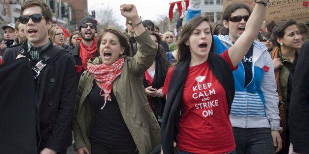 Les manifestations étudiantes font mal à l'industrie hôtelière, selon