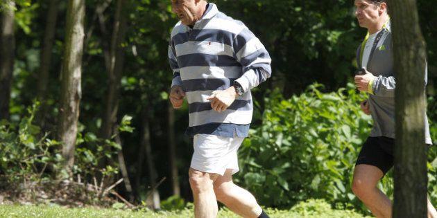 Nicolas Sarkozy en vacances au
