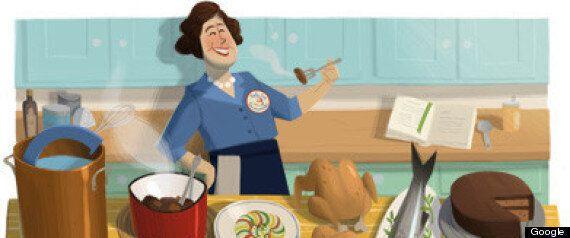 Doodle du jour: Julie Child aurait eu 100 ans